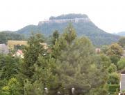 Blick vom Balkon zum Königstein