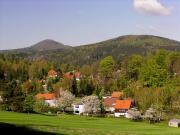 Kurort Jonsdorf - Blick zur Lausche