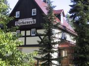 """Ferienhaus """"Birkeneck""""  Blick vom Parkplatz"""