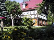 """Ferienhaus """"Birkeneck""""  Blick vom Garten"""