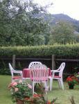 Garten mit Sitzplatrz