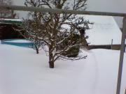 Unsere Ferienwohnung mit Pool im Winter