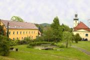 Unser Haus in der Nähe des Schlossparks