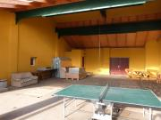 unsere große Freizeithalle mit Tischtennis