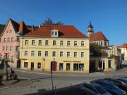 Vorderansicht des über 250 Jahre alten Stadthauses