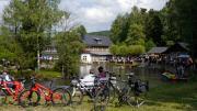 Gondelteich, Eisgarten und Gartenlokal