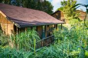 """Unser """"Naturhaus"""" (Haus 4) bietet Räume für 4 Personen und ist mit dem """"Blauen Blockhaus"""" identisch."""