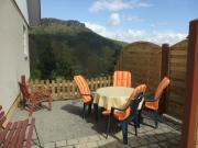 Ihre Terrasse mit Blick auf den Lilienstein