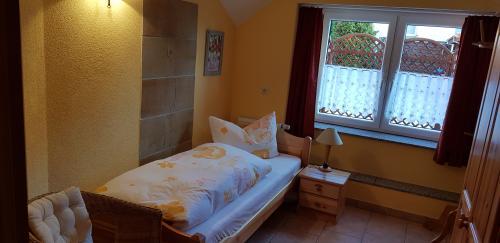 Ferienwohnung 2, kleines Schlafzimmer