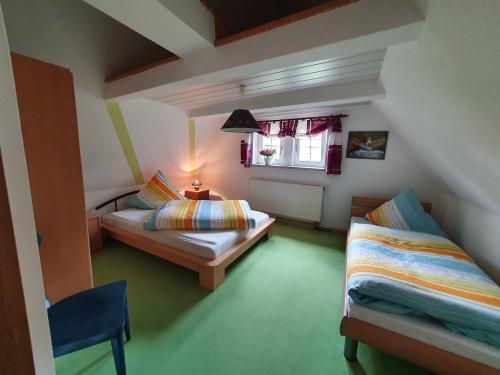Kleines gemütliches Schlafzimmer