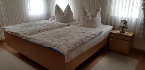 Hier schlafen sie