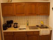 Küche im Ferienbungalow