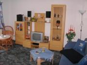 Wohnraum mit ausziebarem Schlafsofa