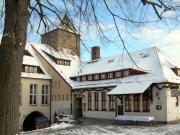 oberer Burghof im Winter