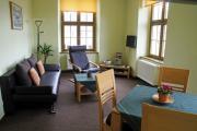 Wohnung 2 - Wohnraum mit Schlafcouch